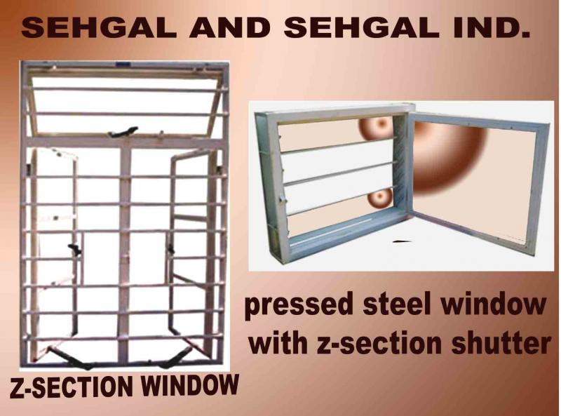 Sehgal Doors Z Section Windows As Per Is 1038